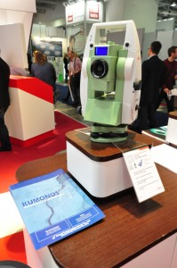 KUMONOS at Leica Geosystems booth