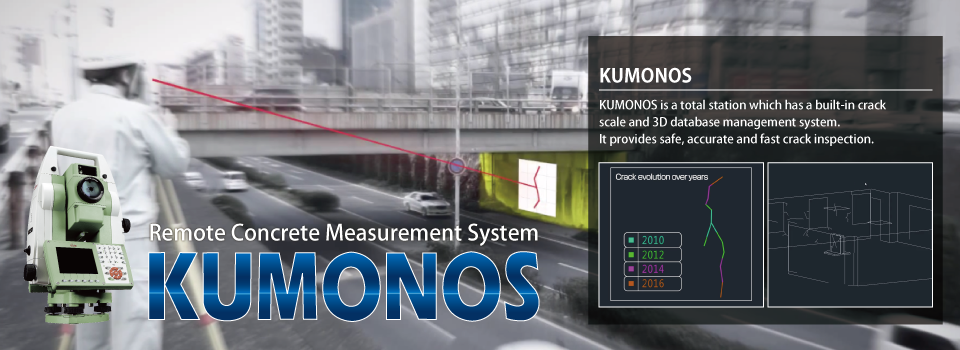 KUMONOS,Baum Station,Crack Inspection,Concrete Inspection,Pile Driving